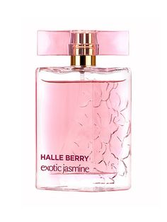 HALLE BERRY EXOTIC JASMINE Seductive scents aren't always appropriate for the office. But this one manages to blend rich musk, vetiver, cedar, violet, and (you guessed it) jasmine to make a subtle, sexy scent. A stranger would have to get very close to you to enjoy the full experience. But isn't that the whole point?