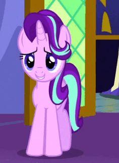 #1153357 - animated, cropped, cute, no second prances, safe, screencap, solo, spoiler:s06e06, starlight glimmer - Derpibooru - My Little Pony: Friendship is Magic Imageboard