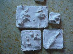 Klasje Dorine: zelf fossielen maken Collages, Projects, Blog, Crafts, Activities For Children, Dinosaurs, Childhood Education, Creativity, Gypsum