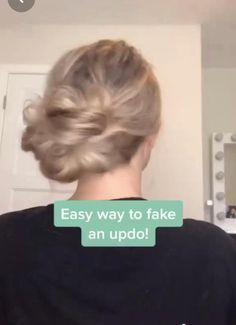 Easy Hairstyles For Long Hair, Up Hairstyles, Pretty Hairstyles, Athletic Hairstyles, School Hairstyles, Hair Upstyles, Aesthetic Hair, Aesthetic Light, Hair Videos