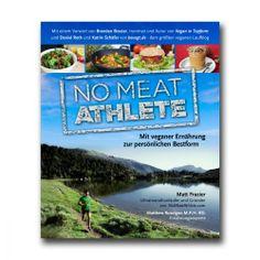 NO MEAT ATHLETE - Matt Frazier // 20 €  // Vegan laufen! Mit einer Kombination aus bewährten Trainingsmethoden, motivierenden Erfahrungsberichten und innovativen Rezepten ist No Meat Athlete einzigartiger Fitness-Ratgeber und Kochbuch zugleich. Egal, ob du bereits vegan lebst oder die Vorzüge einer veganen Ernährungsweise ausprobieren möchtest – das Buch bietet einen Ernährungsleitfaden sowohl für Laufanfänger und -anfängerinnen als auch für Fortgeschrittene.