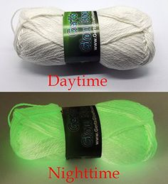 The Glow in the Dark Yarn is back, and this time it's worsted weight!! Woo…