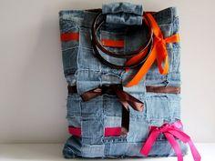 Riciclo creativo, come riutilizzare i vecchi jeans [FOTO]