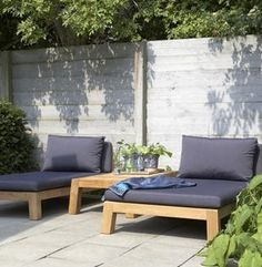 Image detail for -Piet Boon Outdoor Lounge Meubelen for the porch Outdoor Daybed, Outdoor Lounge, Outdoor Spaces, Outdoor Living, Outdoor Furniture Plans, Garden Furniture, Wicker Furniture, Outdoor Projects, Garden Inspiration