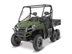 New 2017 Polaris RANGER 6x6 Sage Green ATVs For Sale in North Carolina.
