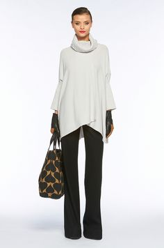 comfy fall outfit, love the wide legs pants