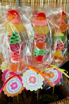 Fruit Kabob Party Favors for Moana Party