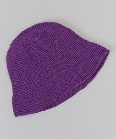 This Grape Jelly Roll Hat is perfect! #zulilyfinds