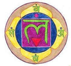 Lam Muladhara Chakra, Chakra Art, Sacred Geometry, Symbols, Paintings, Paint, Painting Art, Painting, Painted Canvas