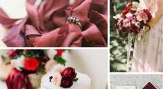 Inspiración Marsala para las #bodas del 2015