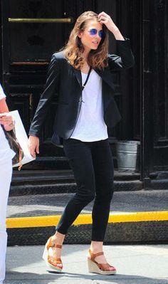 June 2014 - shopping in New York Princess Caroline, Princess Charlotte, Bcbg, French Chic, Royal Fashion, New Wardrobe, Dream Dress, Casual Looks, Preppy