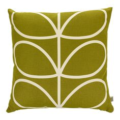 Discover the Orla Kiely Linear Stem Apple Cushion - 45x45cm at Amara