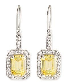 Canary #yellow drop earrings http://rstyle.me/~1R7VN