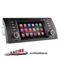 348,03€ - ENVÍO SIEMPRE GRATUITO - Consola Ordenador de a Bordo DVD GPS 2GB RAM 1024X600 Quad Core Para BMW X5 Serie 3 M5 E39 E53 - TUTIENDARACING