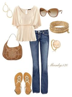 """Around town"" by mandys120 ❤ liked on Polyvore"