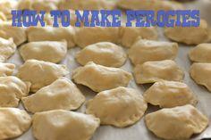 My favorite Perogie recipe .. How to Make Perogies .. very easy
