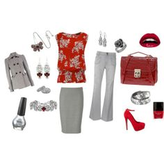 complete outfits for women | ... Valentine's Day Fashion Trends & Outfit Ideas For Girls & Women 2013