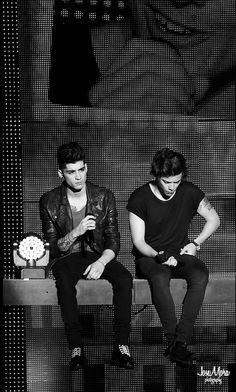Zayn and Harry