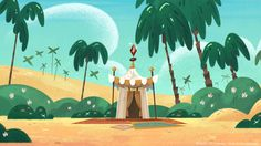 """MARCUS LEVEL Color on backgrounds for TV show """"Marcus Level"""" created and directed by Ahmed Guerrouache Art director : Manu Tanon-Chi Bg artists: Regis Maillet/Vincent Lozuet. Cartoon Background, Game Background, Animation Background, Tv France, Cartoon Tv Shows, Game Concept Art, Character Design Animation, Environment Concept Art, Game Design"""