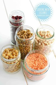 COOKING WITH LEGUMES: Versatile, nutrient packed and super cheap legumes are a valuable addition to your child's diet. #onehandedcooks