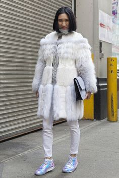 VOGUE fashion   snap   2014-15年秋冬NYコレクション会場スナップ Part1。   10