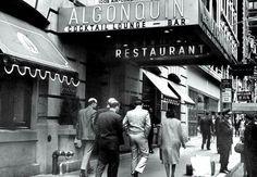 The Algonquin Hotel   1965 Photo by Meyer Liebowitz