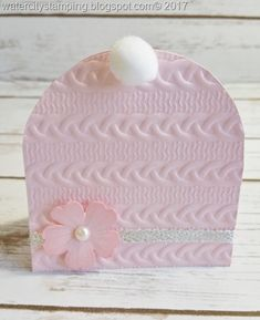 Recently I needed a Baby Shower Gift Card holder….so I thought BABY HAT!!! Oh my gosh……Isn't this just the sweetest thing!!