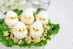 Töltött tojás csibe
