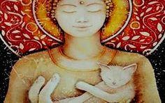 Un espacio para el Alma......: La leyenda budista sobre los gatos
