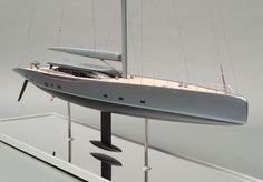 Dubois Royal Huisman Sloop The Beast Yacht Design, Boat Design, Wood Boats, Nautical Design, Super Yachts, Luxury Yachts, Boat Plans, Model Ships, Boat Building