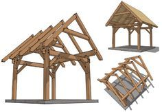 how+to+build+a+gabled+pergola | BACK TO HOME IMPROVEMENT