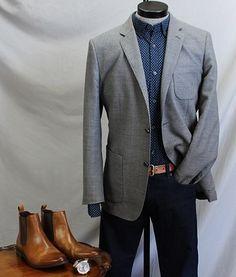 BR Slim-Fit Custom 078 Wash Dash Shirt | Dappered.com
