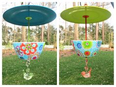 Hey, I found this really awesome Etsy listing at https://www.etsy.com/listing/185171641/hanging-retro-floral-bird-feeder-two