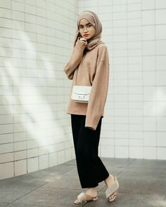 Hijab Fashion Selection of special veiled trendy looks Hijab Casual, Modest Fashion Hijab, Hijab Style, Hijab Chic, Casual Outfits, Fashion Outfits, Modest Outfits Muslim, Ootd Hijab, Fashion Fashion