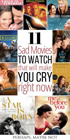 Sad Movies That Will Make You Cry - - Grab a box of tissues and get ready to dab at your eyes and nose. Not one is safe from the waterworks when it comes to these sad movies. Movies To Watch Teenagers, Netflix Movies To Watch, Good Movies On Netflix, Sad Movies, Good Movies To Watch, List Of Comedy Movies, Saddest Movies, Family Movies, Best Romantic Movies