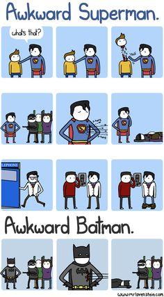 Awkward Superheroes