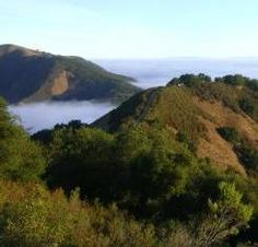What to do in Monterey.  View from the ridge at Garland Ranch Regional Park, image
