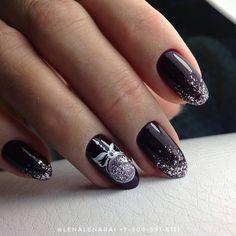 Нетипичный Маникюр Christmas Nails, Christmas And New Year, Gel Nails, Manicure, Color Street Nails, Winter Nails, Nail Designs, Hair Beauty, Make Up
