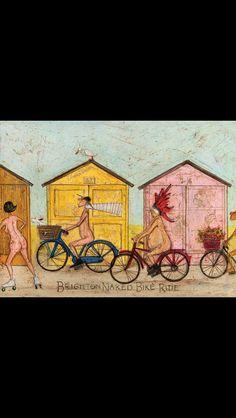 Sam Toft, Brighton Naked Bike Ride