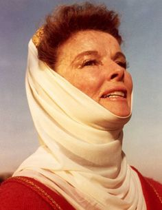 One great portraying another. Katherine Hepburn as Queen Eleanor of Acquitaine