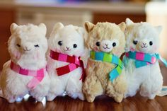 Kawaii Alpaca Plush by Arpakasso | This is why I want to go to Japan. Because of adorable things like these and because Japan has a culture I love.