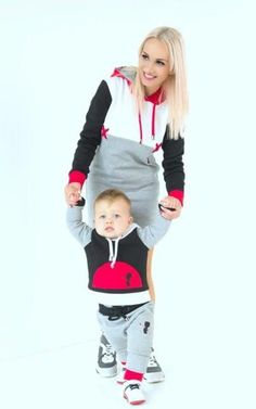 Beautiful Laura and her little boy!