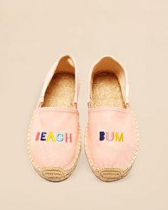 Soludos Girls' Beach Bum Slip On Espadrilles - Toddler, Little Kid, Big Kid   Bloomingdales's