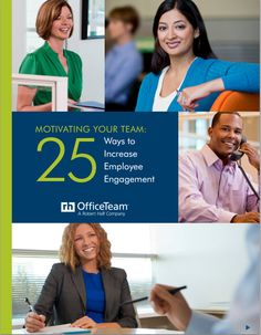 A disengaged staff can have a significant negative effect on productivity, customer service levels and retention. This guide discusses how you can keep your workers inspired. http://s3.amazonaws.com/DBM/M3/2011/Downloads/ot-motivate-your-team.pdf