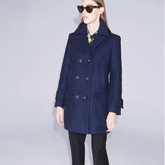 Thank you @elinkling for including our Africa wool peacoat in @elinklingdotcom best fall jackets selection!