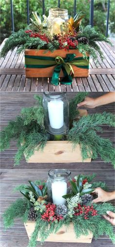 Easy diy christmas decorations ideas on a budget 22