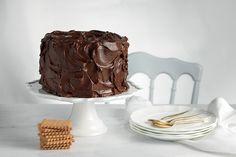 """Σοκολατένιο fudge κέικ με """"ΠΤΙ-ΜΠΕΡ"""" ΠΑΠΑΔΟΠΟΥΛΟΥ"""