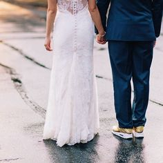 awesome vancouver wedding gorgeous lace & gold nikes #vancouverweddingphotographer #wonderlustphotography #airmax #lace #sneakerhead by @wonderlust_photography #vancouverwedding #vancouverwedding