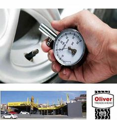 Tyre Tip: Check your #tyre pressure the first week of every month, that way you won't forget when you checked it last - come down to Oliver Tyres Mossel Bay and we will assist you with your tyres. #tyresafety #maintenance