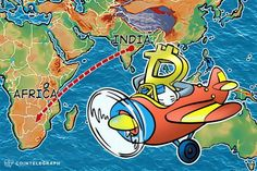 As it is just a matter of time for the Bitcoin bubble to burst in India so it is a little sooner for the multiplier effect of the burst to spill over to Africa.